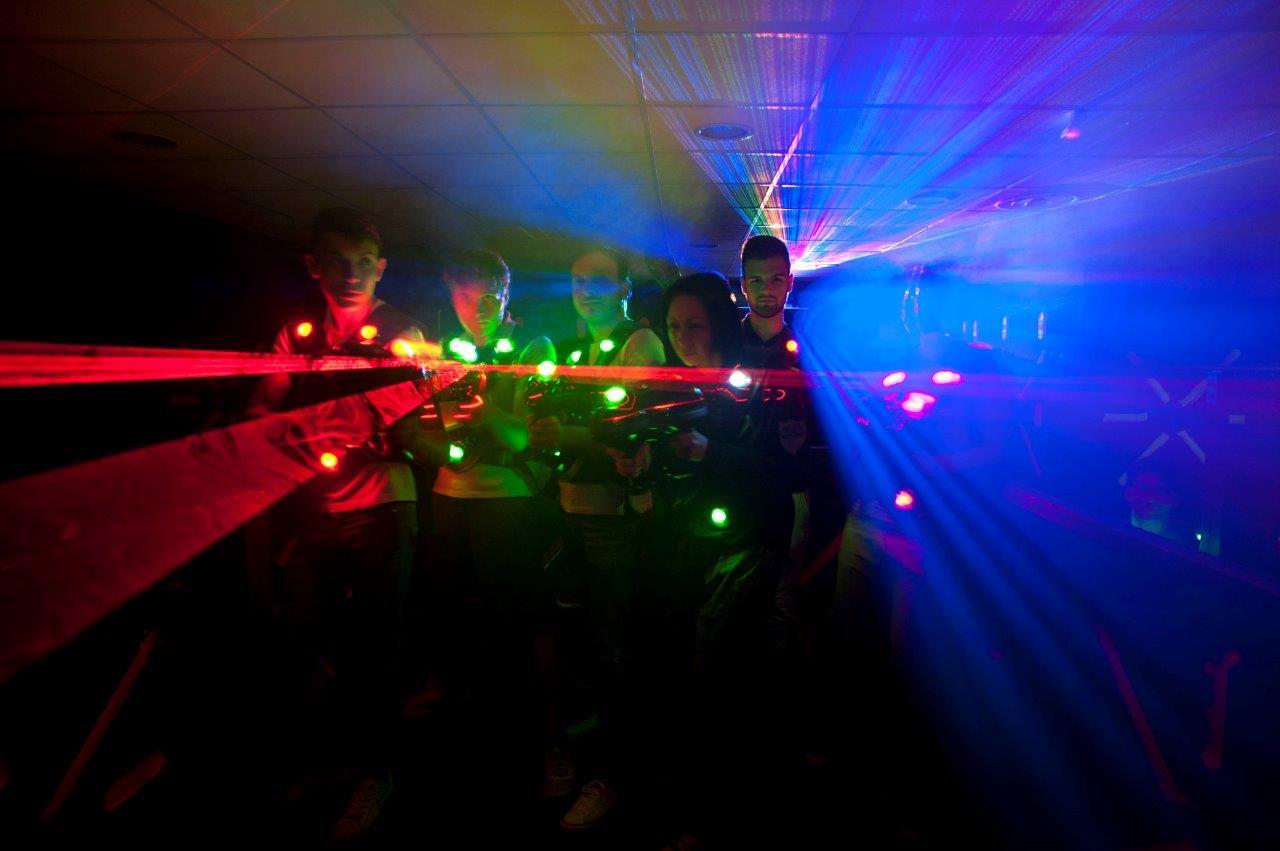hendy il guerriero laser game gioco di squadra